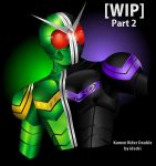 Kamen Rider Double - WIP 2 by palsu