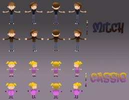 Character Rigs by E-vay