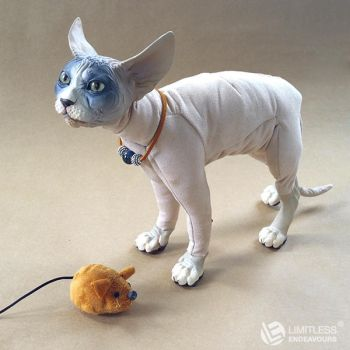 Tan Sphynx Cat Doll by LimitlessEndeavours