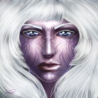 Female Drow by Ireness-Art