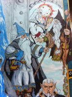 Gandalf and the Istari Wizards by whittingtonrhett