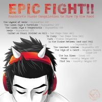 Epic Fight Soundtracks by MondoArt