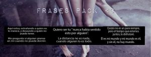 Frases|Pack by CamiMetalera