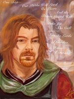 Boromir Lord of Gondor by RobbieDGrimm