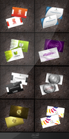 collection Business Cards by Designermooh