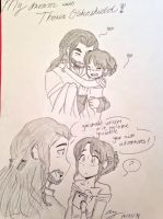 My dream with Thorin by nana-chin