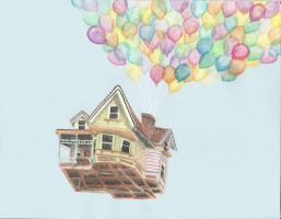 Carl's House from UP by Faithp15