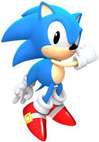 Classic Sonic Render by JaysonJean