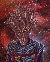 I Am Groot excessive color by BigDogsStudio