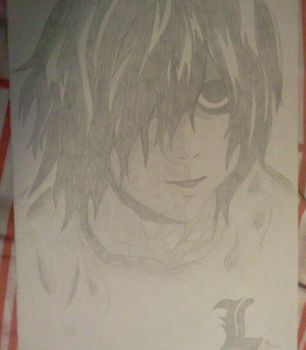 L Lawlet~ Death Note by ely-sah