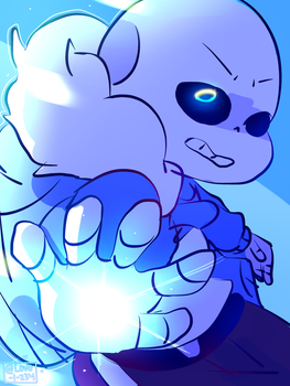Sans!! by LovelyArtist1234
