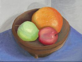 Fruit Bowl Color Study by Zephyr-Aryn