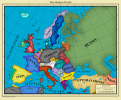 Europe 1925 by AHImperator
