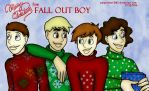 Merry Christmas from Fall Out Boy by paigehebert1967