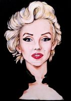 Marilyn Monroe by CrystalSexyAss