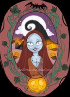 Sally The Pumpkin Queen by britterella