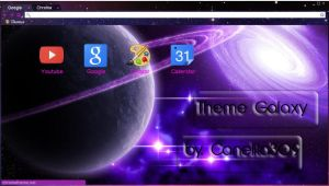 Theme Google Chrome Galaxy By.Canelita309 by SriitaDeWatt