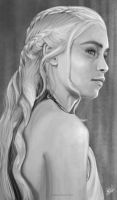 Khaleesi Mother of Dragons by whikiko