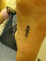 bobby's left foot by GetSomeInk