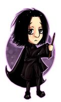 Chibi Snape - AHE by snapefanclub