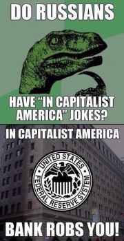 Capitalist America by TheFunnyAmerican