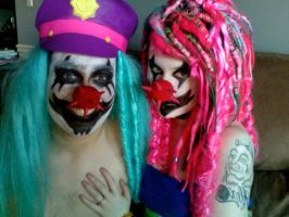 Rock and roll clowns by ExplodyStuff