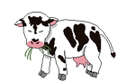 Cow pixel GIF by SarahBearaBee
