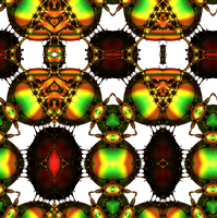 Lysergica Semitransparent pattern 3 by PhotoComix2