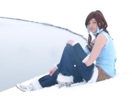 Korra- Winter Shoot V by Kari--Koboyashi