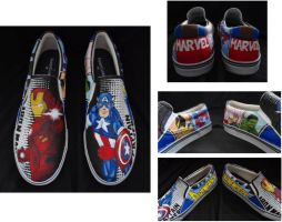 Marvel Shoes by eyktan-kifkeya