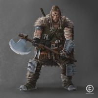 Viking warrior by EmilGoska