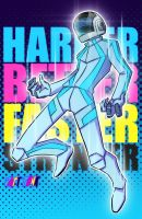 Harder Better Faster Stronger by kawoXD