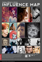 Influence Map 2016 by HaleyKlineArt