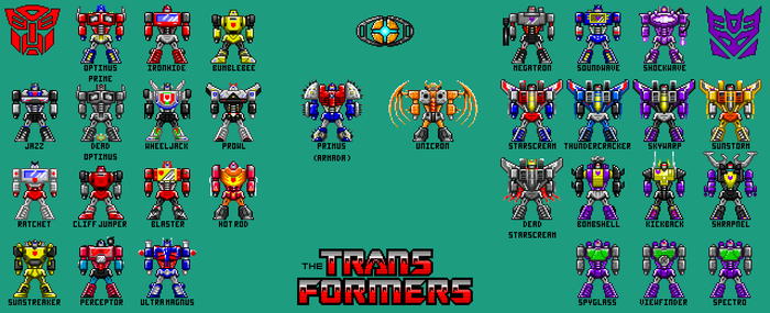 Pixel Hero Transformers Update [2-27-16] by Hunter-Studios