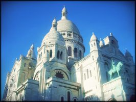 Sacre Coeur Paris by Alexia88