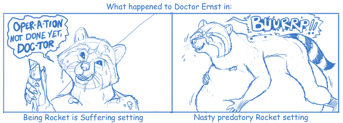 The fate of Doctor Ernst by Greedywoozle