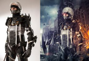 Raiden  Before/After by Baku-Project