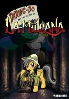 Daring-Do and the secret of La-Muleana by SchizoPie