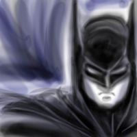 A Batman sketch by OptimusPraino