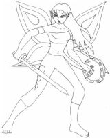 The Battle Faerie by Sepseriis