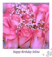 Happy Birthday Selina by Violet-Kleinert