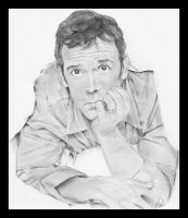 Hugh Laurie by fadedsg