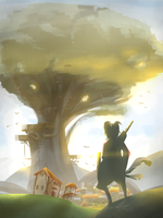 City of Yggdrasil by stupidyou3