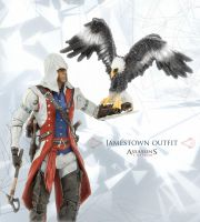 Jamestown outfit action figure Ac3 by shatinn