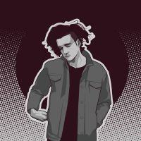 Matt Healy of The 1975 by iPeccatore