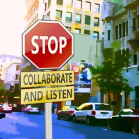 Stop Collaborate and Listen by awe-inspired