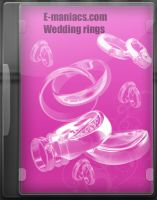 E-maniacs wedding rings brushe by Radyb