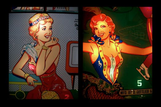 untitled - pinball diptych 1 by mgilpin