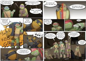 TMNT DR: Pages 15-16 by Samantai