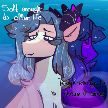 Just like the ocean by SugarySharky